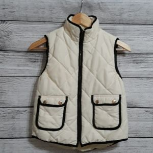 Girls Puffer Vest Jacket size 10-12 M